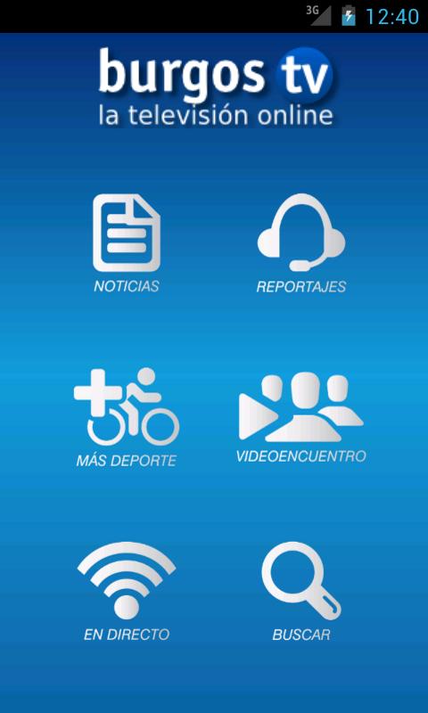 Nueva aplicación Android para burgostv.es