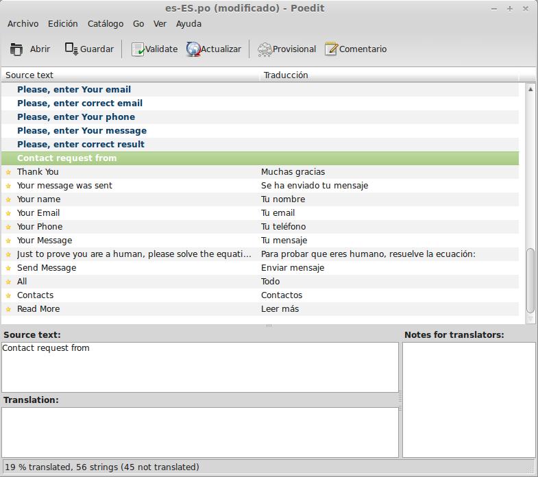 Traducir temas y plugins de Wordpress | AlvaroLara.com